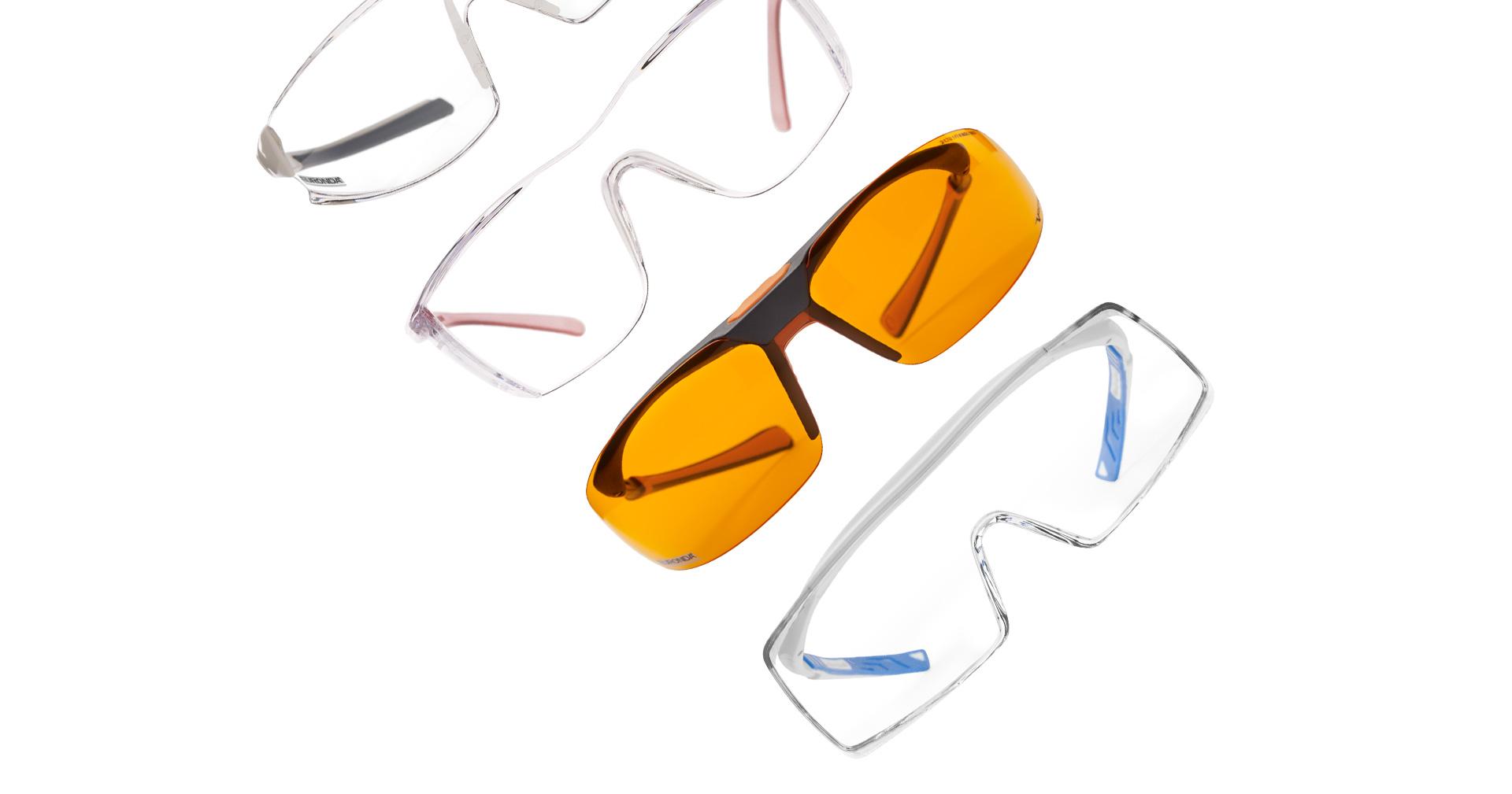 Occhiali protettivi per dentisti
