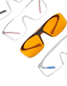 occhialini protettivi