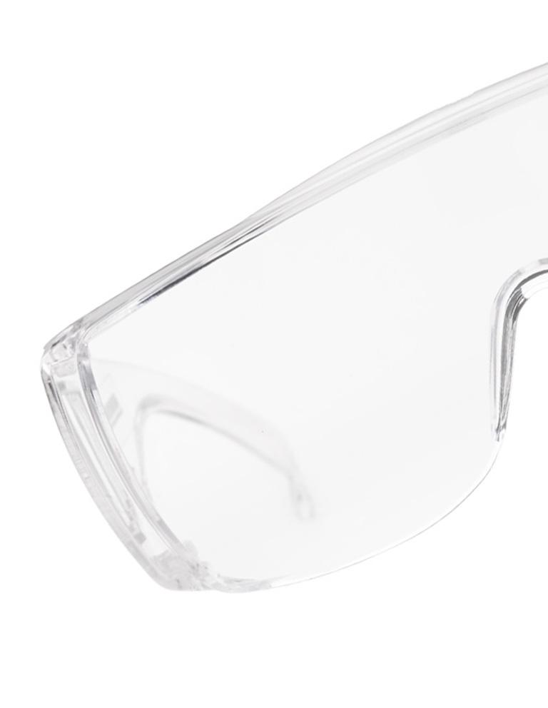 occhiali protettivi trasparenti