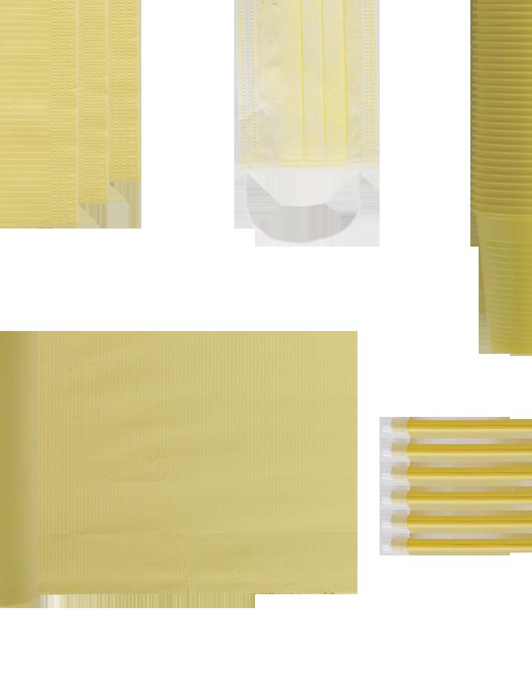 monouso gialli