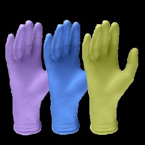 guanti colorati