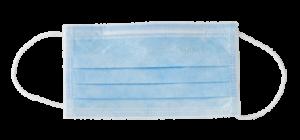 mascherina monouso azzurra