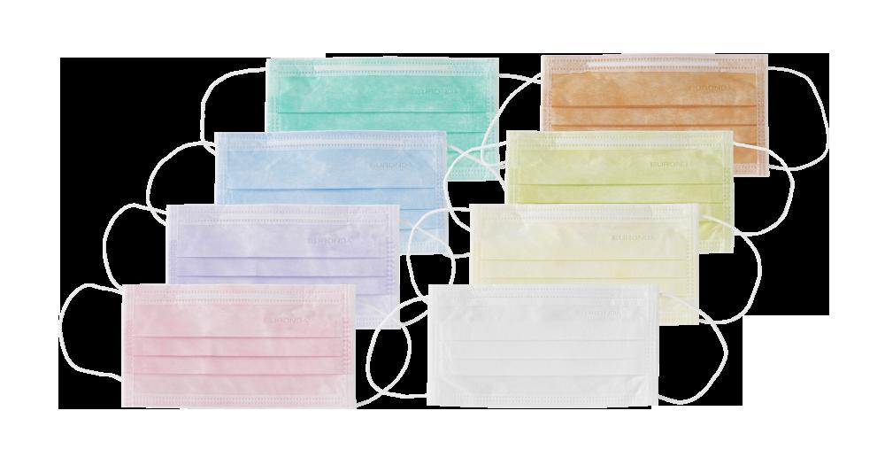 mascherine dentista colorate