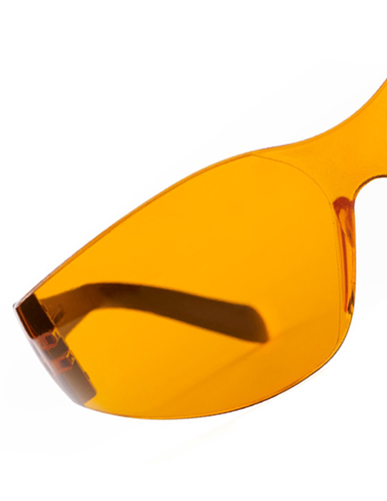 Total Protection Orange Glasses