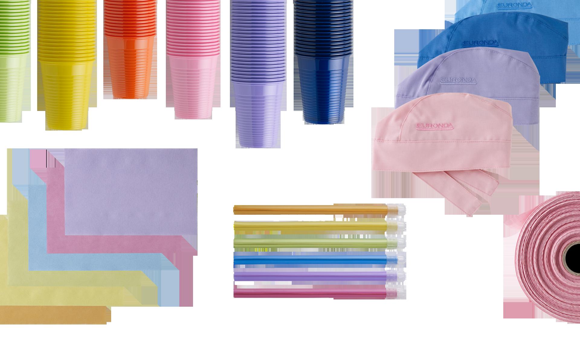 prodotti monouso per dentisti colorati euronda