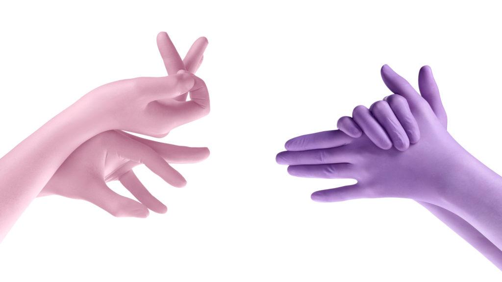 dental gloves - guanti dentale