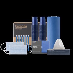 kit Monoart 100% blu
