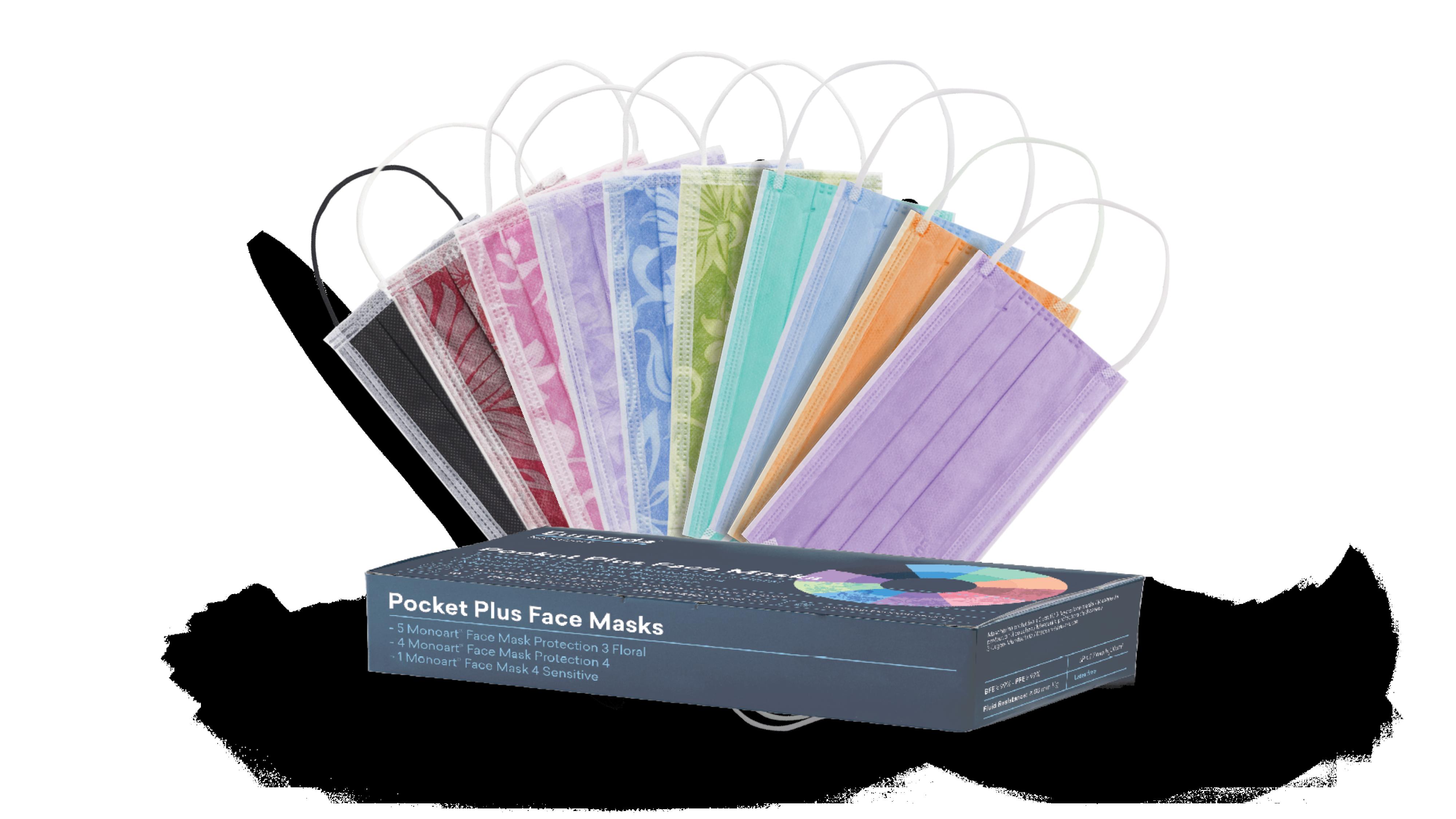 Confezione mascherine Pocket Plus Euronda Monoart